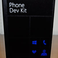 Unboxing Lumia 920 Dev Phone