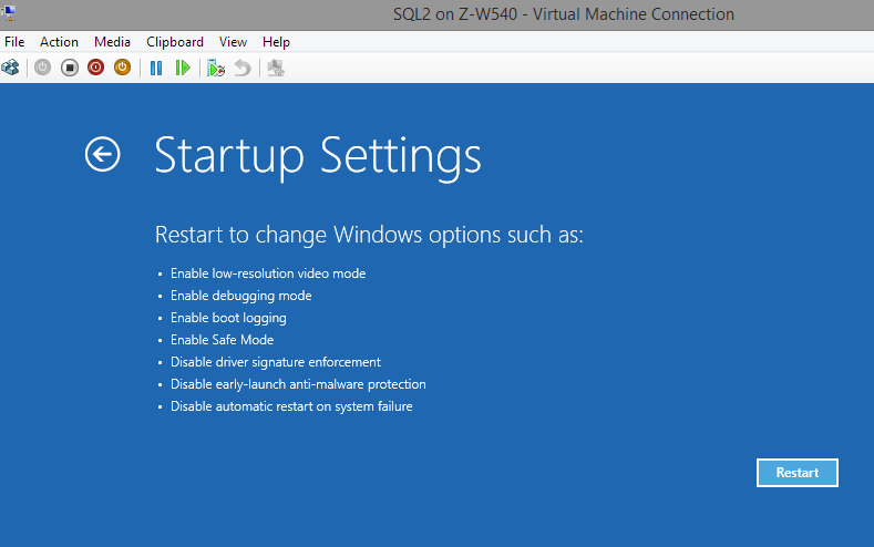 VMCrash-Startup